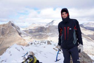 Au sommet du Mont Kerr - Rocheuses Canadiennes
